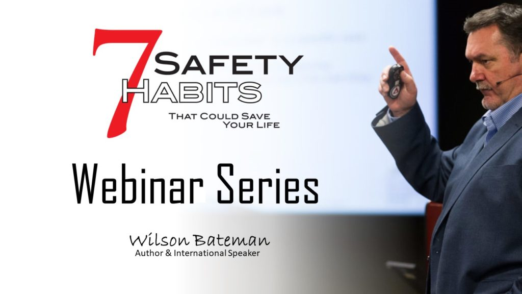 Webinar 7 Safety habits